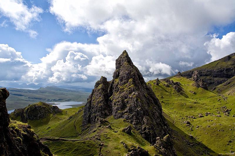 bergachtig landschap